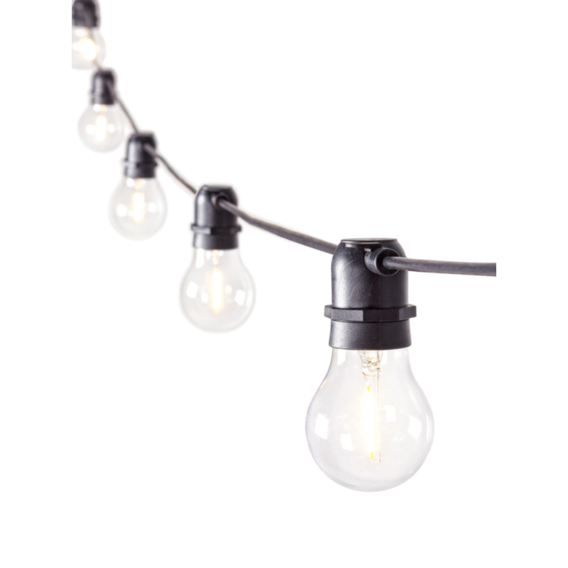 BRIGHT TRANSPARENT CHAIN 10LED