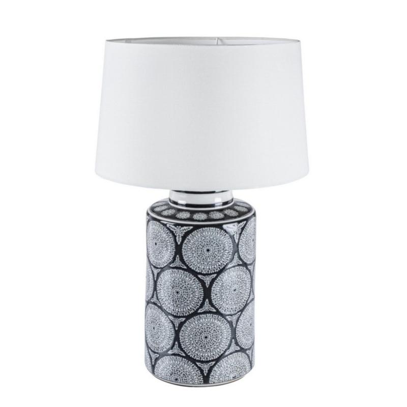 LAMPE DE TABLE ANTIFONE PORCELAINE H63