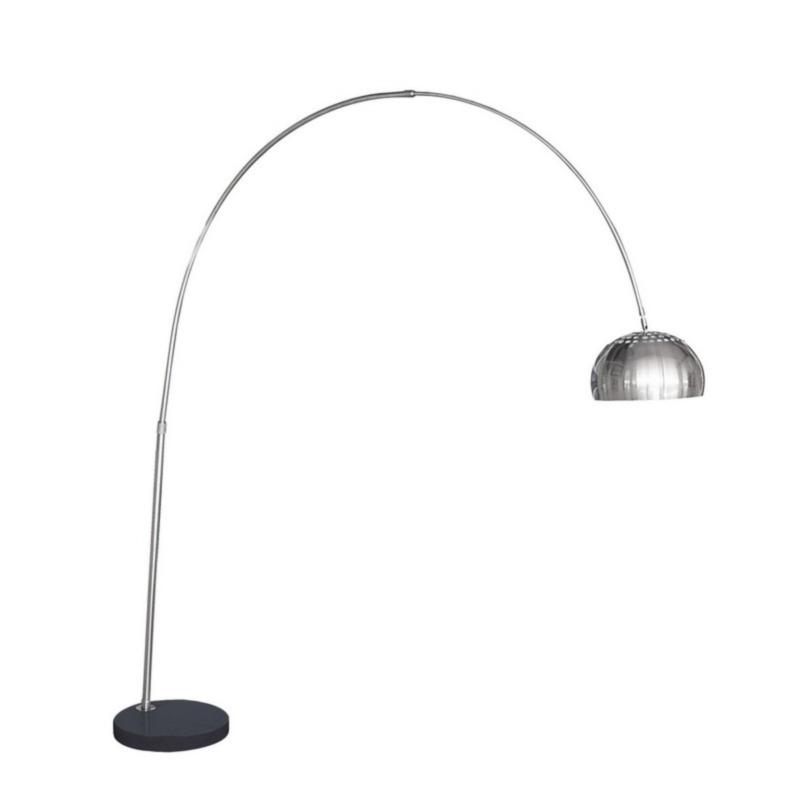 CLASS BLACK MARBLE FLOOR LAMP RADIUS220