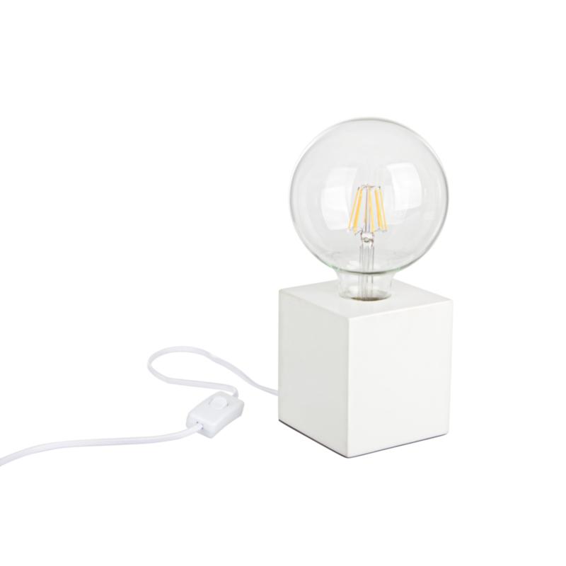 DEREK WHITE TABLE LAMP