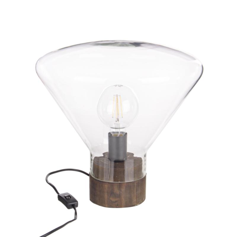 LAMPE DE TABLE JASPER ÉVASÉ