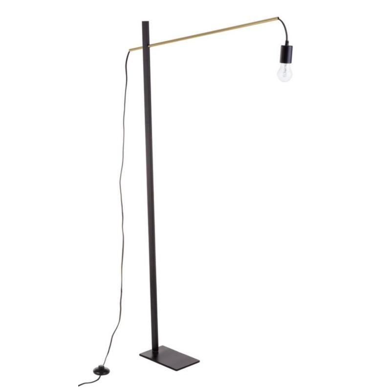 CARTER BLACK FLOOR LAMP H150