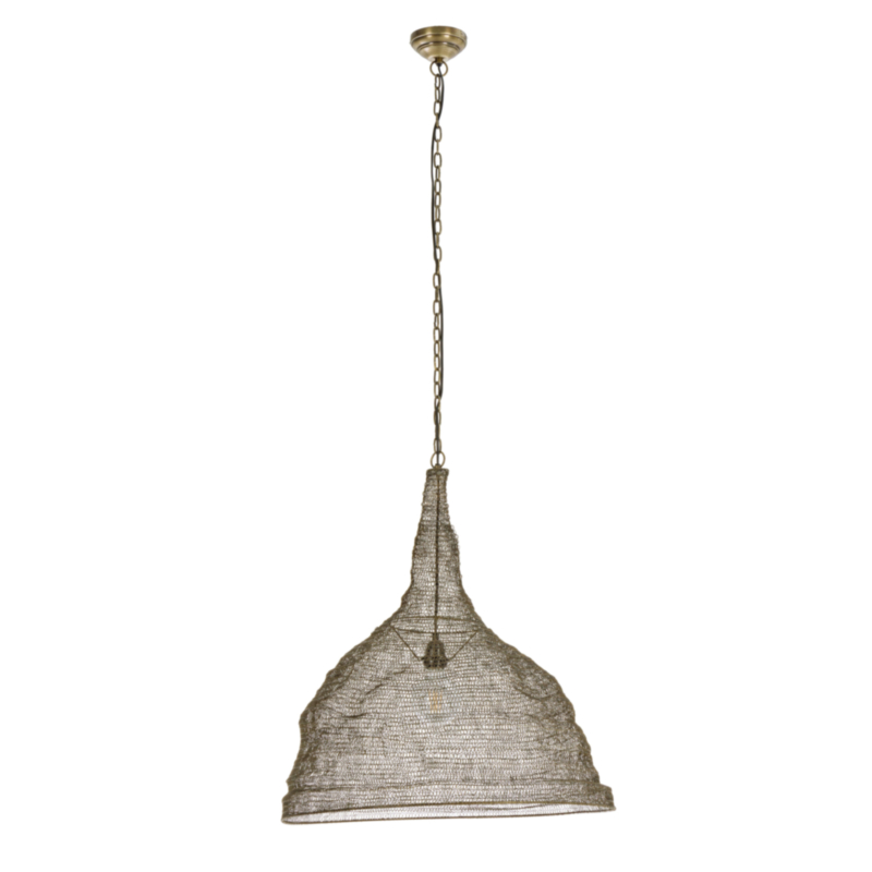 AMISH PENDAT LAMP CIRCLE BRASS