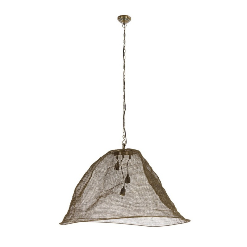 AMISH PENDAT LAMP LOP BRASS