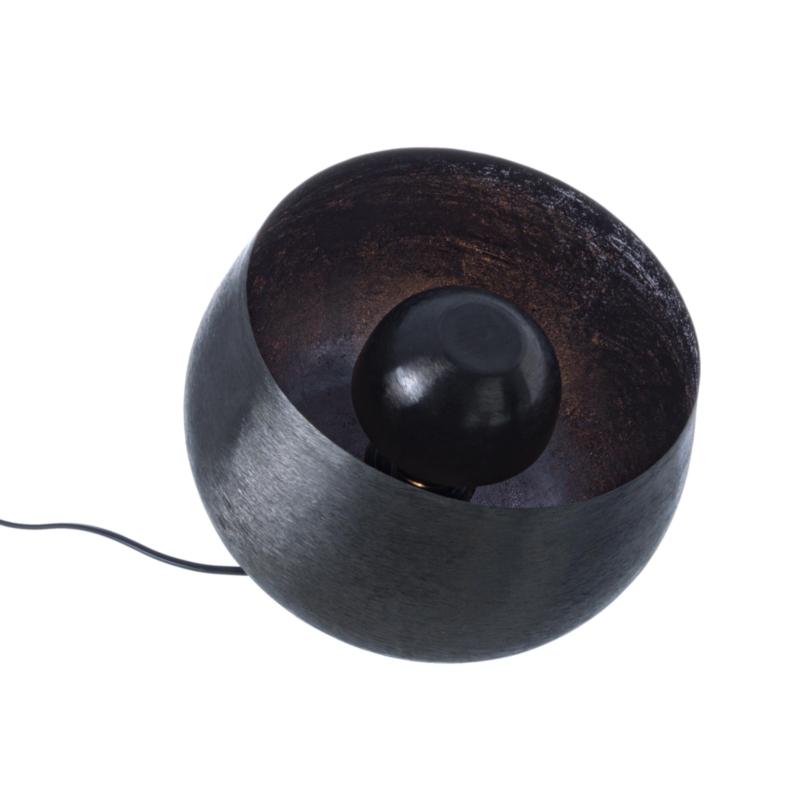 ISHAN TABLE LAMP BLACK L