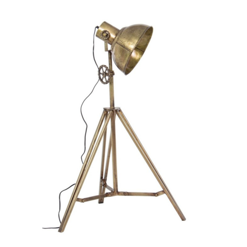 ILEANA GOLD FLOOR LAMP