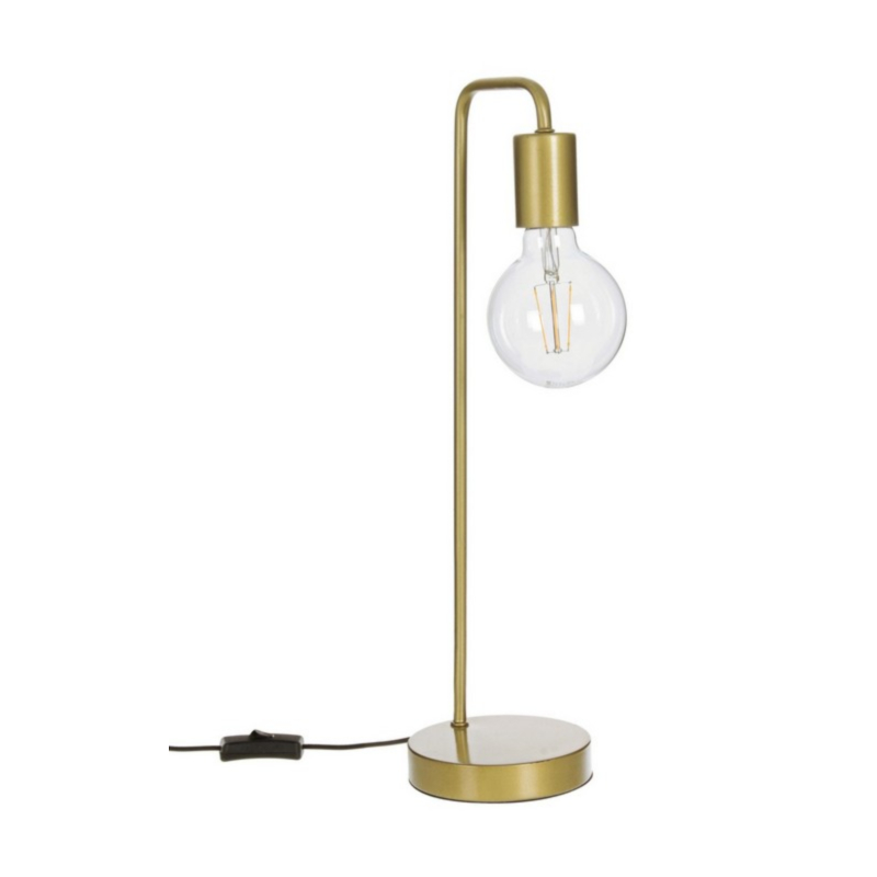 LAMPE DE TABLE EMOTION OR H48,5