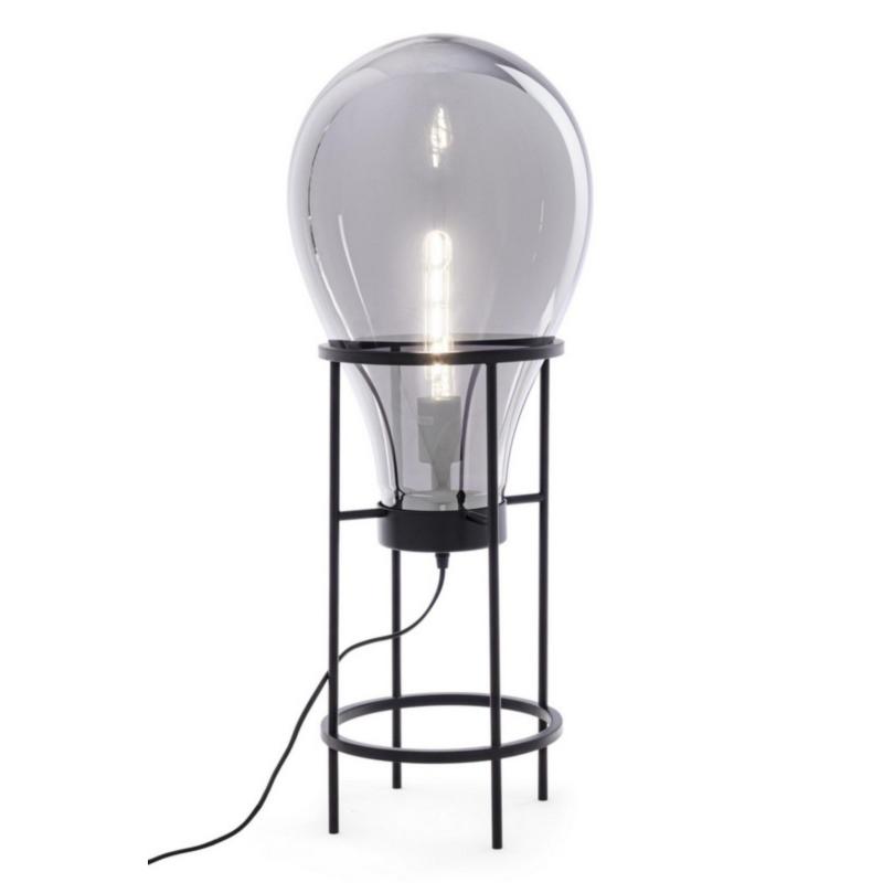 LAMPADAIRE SHINE AMPOULE VERRE H78