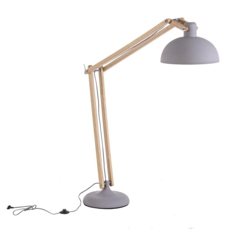 FLOOR LAMP AVATAR GREY MATT H170