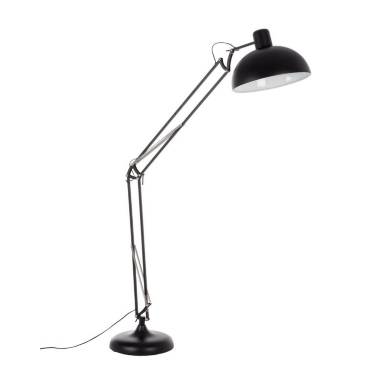BIG MATT BLACK FLOOR LAMP H180