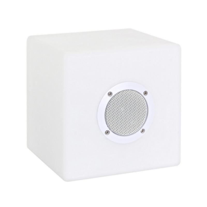 PE CUBE SPEAKER LED LAMP 20X20