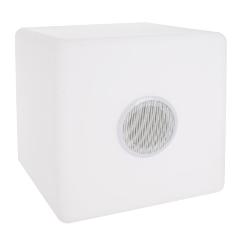 LAMPADA LED CUBO SPEAKER PE 40X40