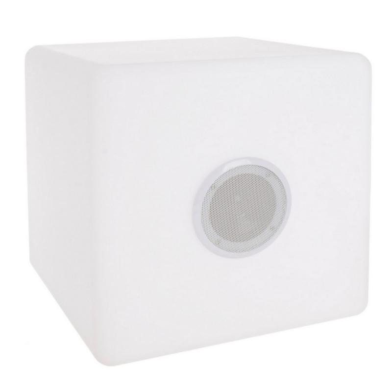 PE CUBE SPEAKER LED LAMP 40X40