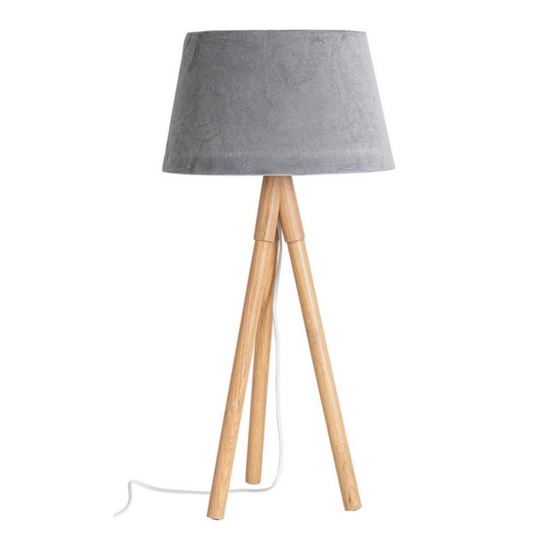 LAMPADA TAV.WALLAS TREPPIEDE GRIG VE H69