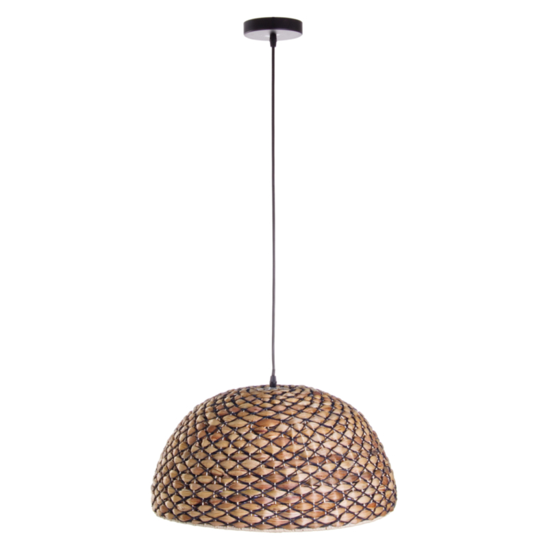 LAMPADARIO GRID NERO D50