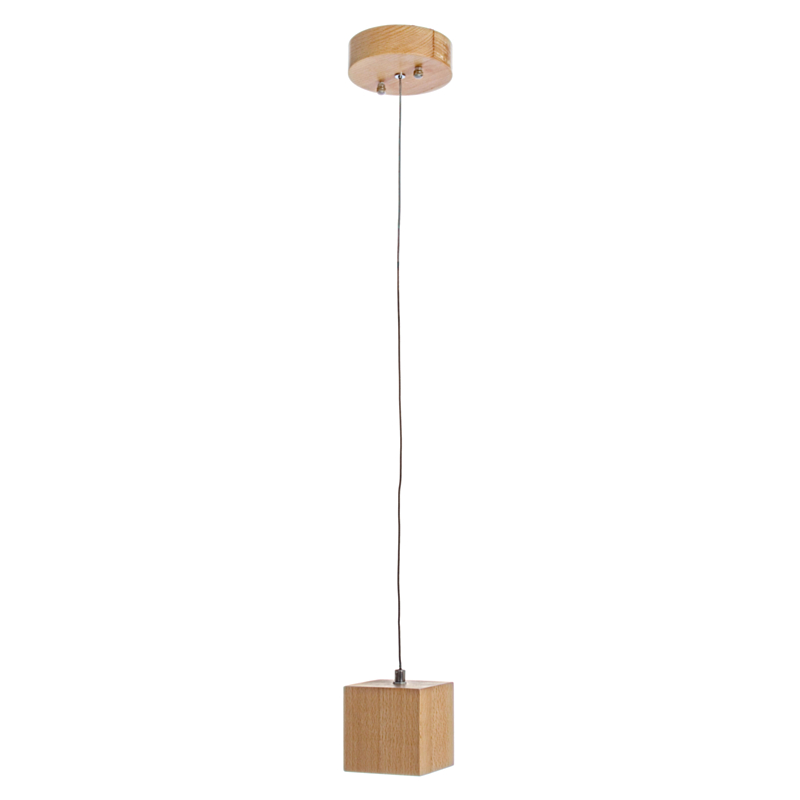 PENDANT LED LAMP ARESE WOODEN