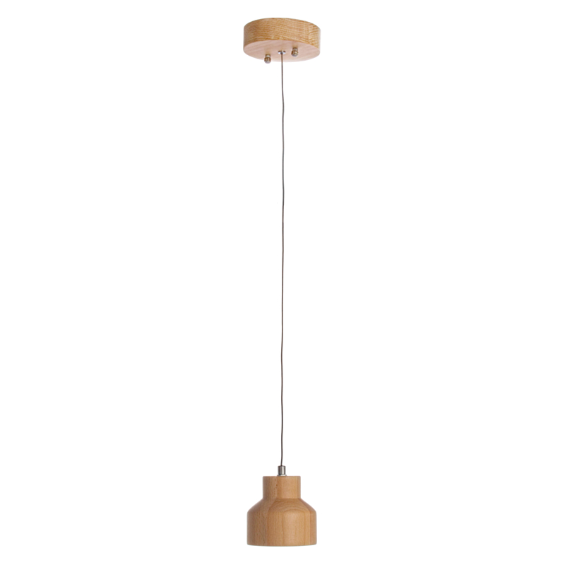 LAMPADARIO LED PAULLO LEGNO
