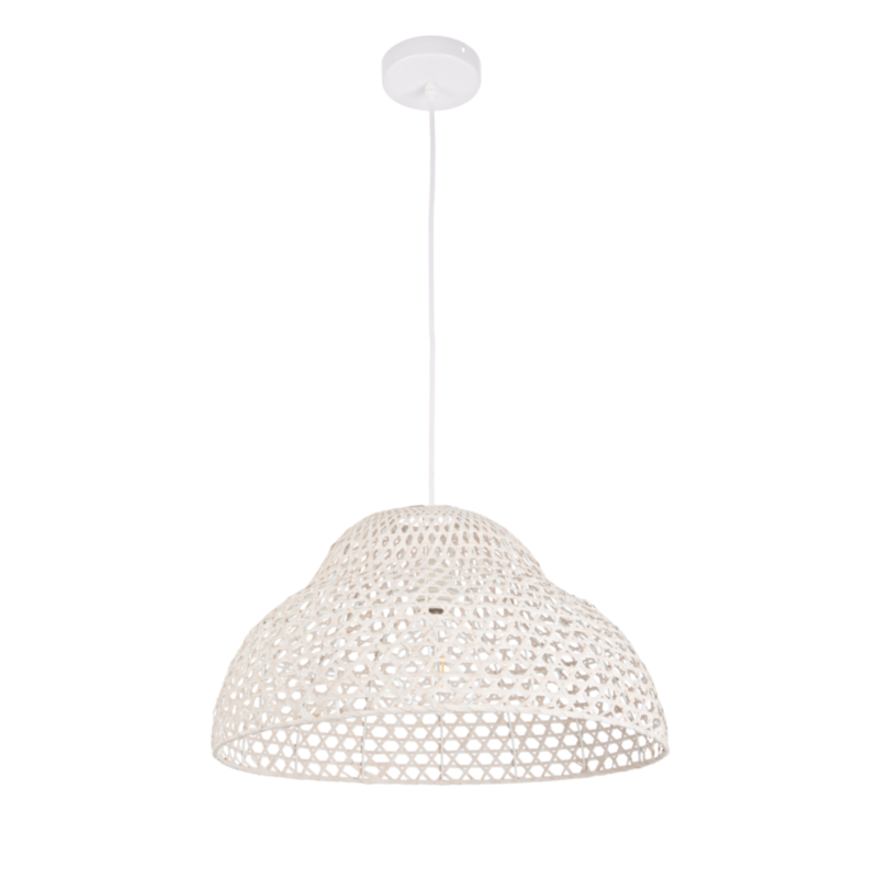 ASTRO WHITE SHAPED LIGHT FITTING D50
