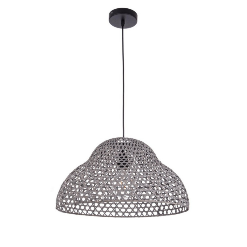 ASTRO GREY SHAPED LIGHT FITTING D50