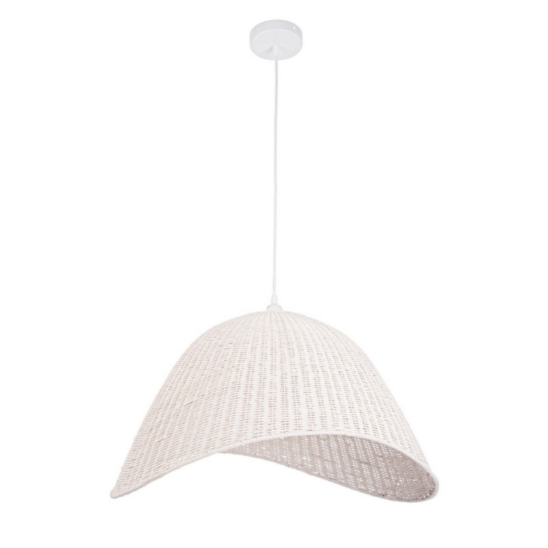ARVID WHITE CUPOLA LIGHT FITTING H35.5
