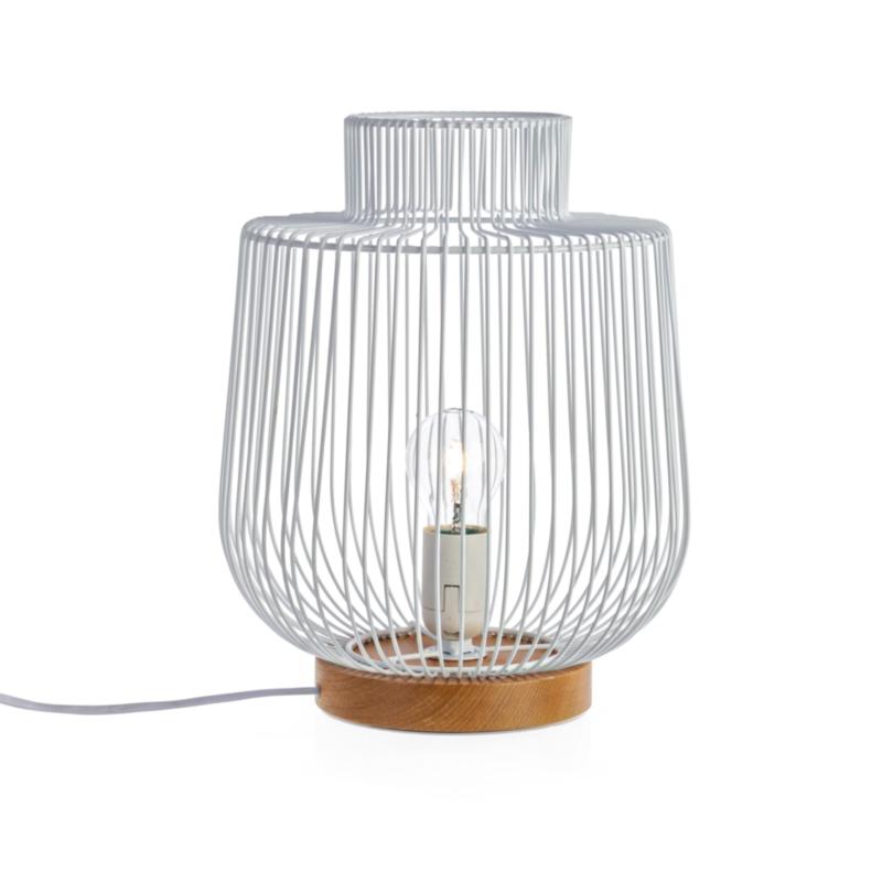 LAMPADA TAV. LUXOR BIANCO D26