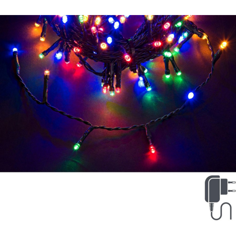 180 LED MULTI INDOOR-OUTDOOR CHAIN