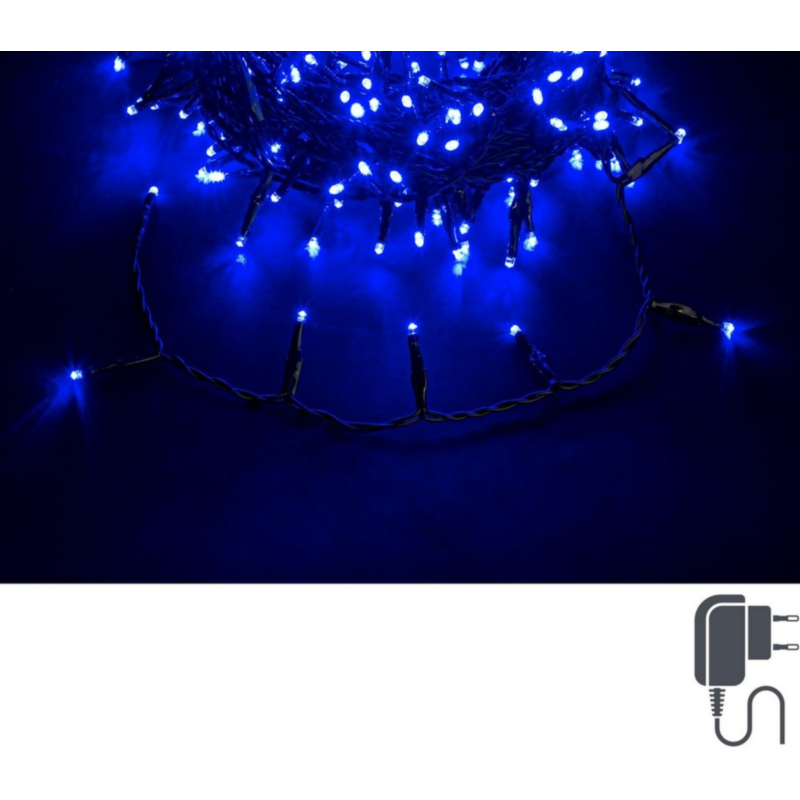 BLUE 180L 5MM GREEN WIRE IP44