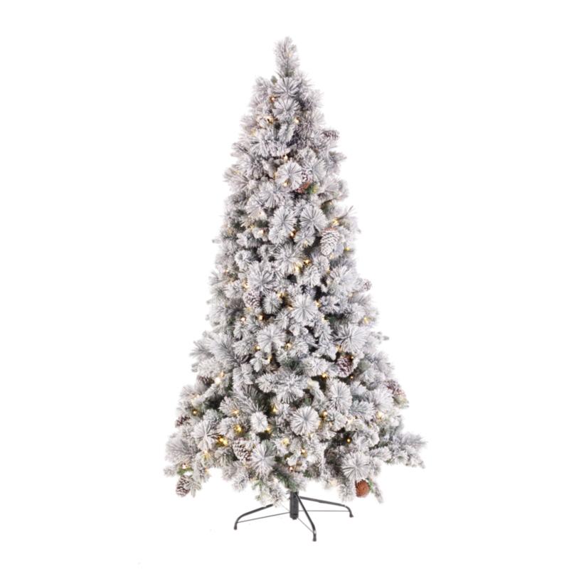 GARLENDA TREE W-GLITTERS H240-2058T 420L