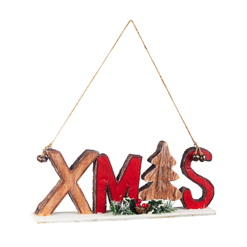 TRADITION XMAS LETTERS ORNAMENT