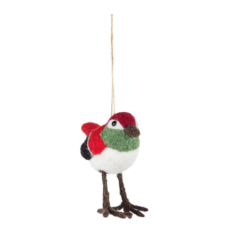 JAZZY BIRD ORNAMENT