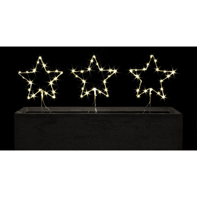 DECOR 3F WHITE STAR 60 CLASSIC MICROLEDS