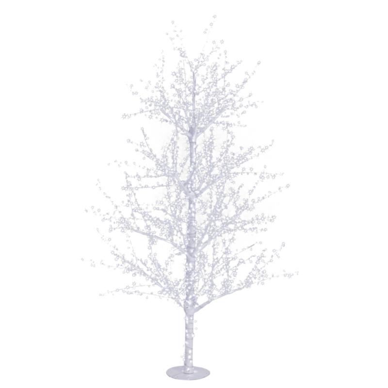 EVEREST TREE H240-1320 WHITE LED LIGHTS