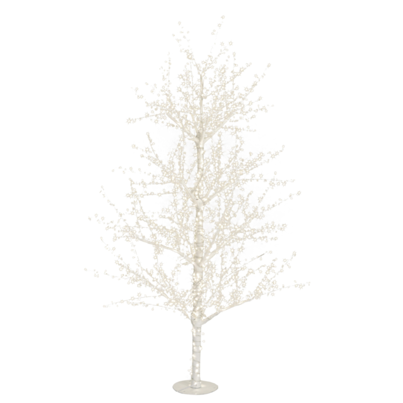 EVERST TREE H240-1320 WARM WH LED LIGHTS