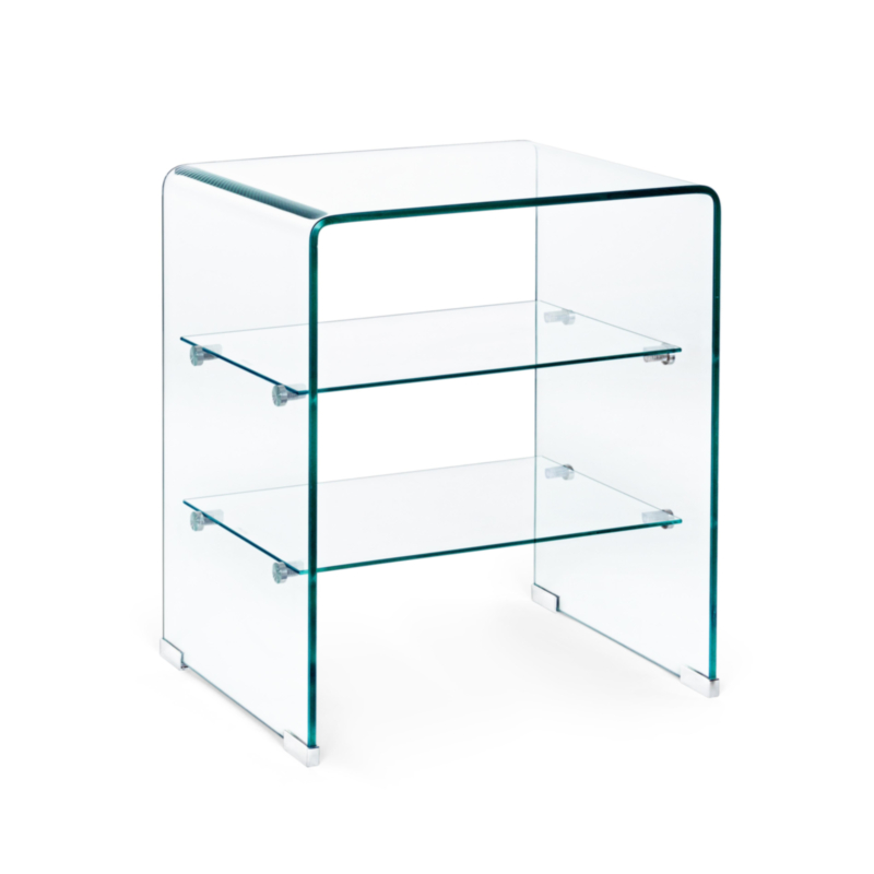 IRIDE GLASS CABINET 3 SHELVES 50X40