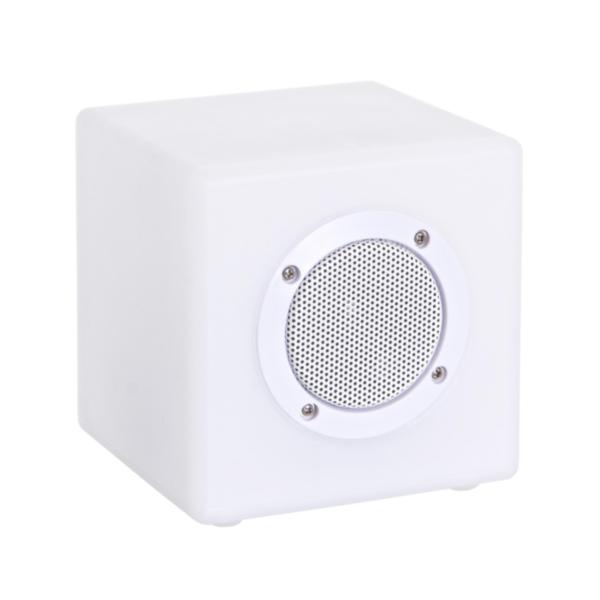 LAMPE LED CUBE SPEAKER PE 15X15